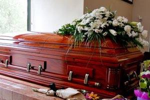 Servicio de funeraria