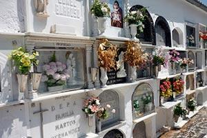 Servicio de gestión de cementerios